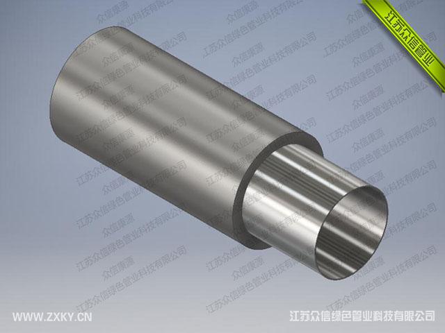 外包钢增强不锈钢管