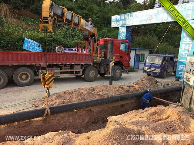 增强不锈钢管三油两布埋地管