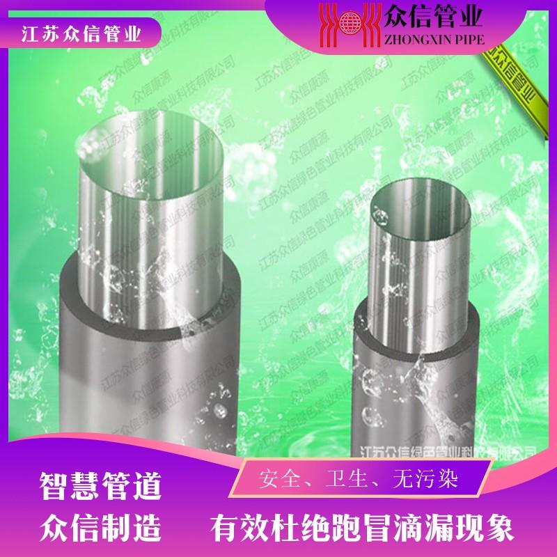 增强不锈钢管示意图