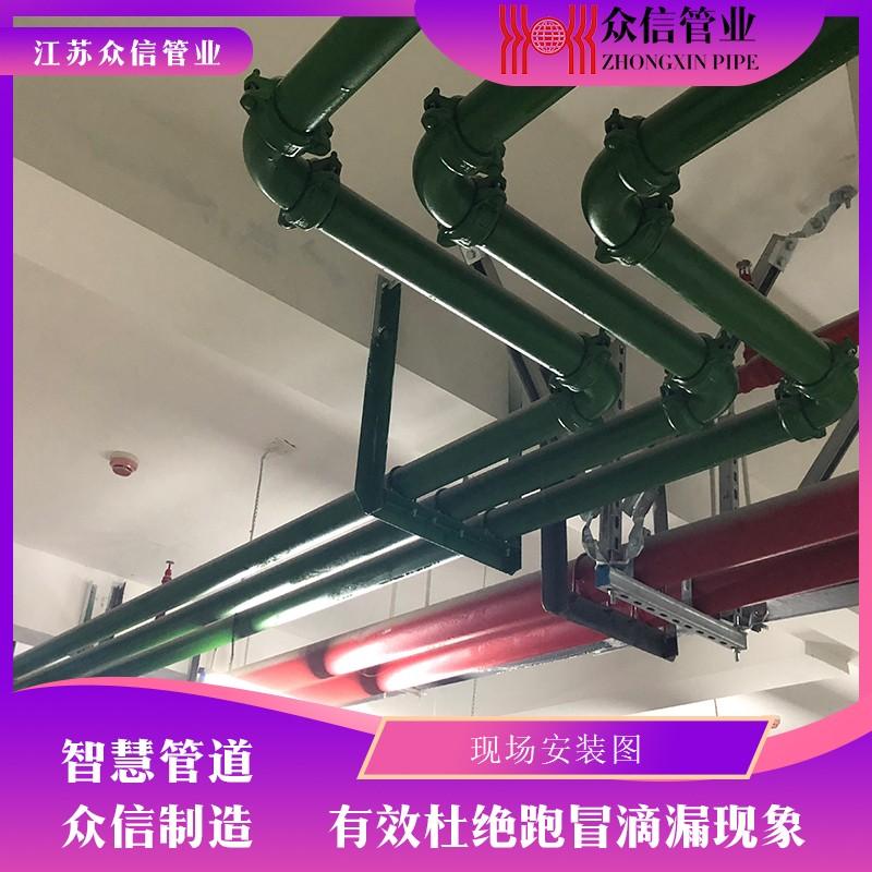 内衬不锈钢复合管-沟槽连接