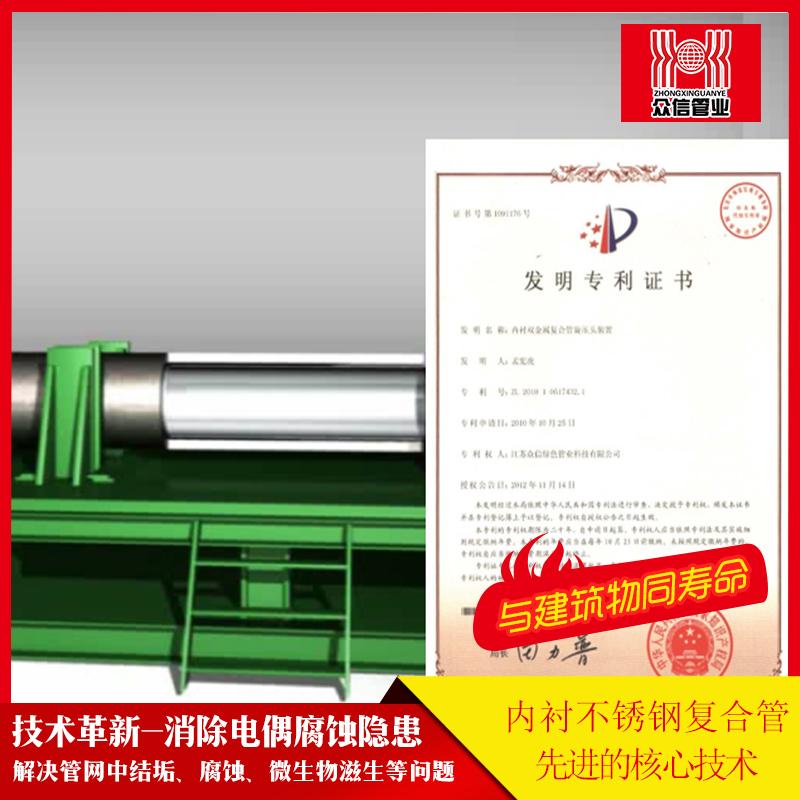 不锈钢管复合技术